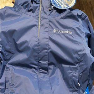 Columbia waterproof breathable kids jacket NEW